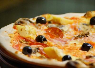 Pizzeria restaurant vente pizzas à emporter Vannes